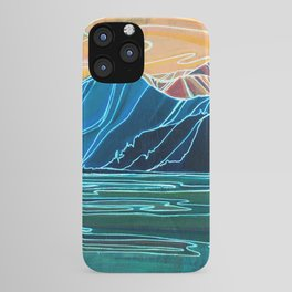 Coastal Connections : Single Line iPhone Case