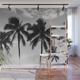 Hawaiian Palms II Wall Mural