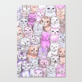 catsquad Canvas Print