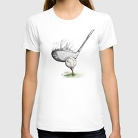 golf T-shirts featuring  Golf  by Eyad Shtaiwe