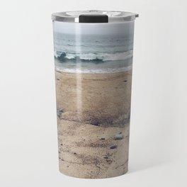 Stormy Sycamore Beach Travel Mug