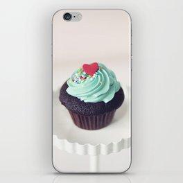 Lil' Heart Cupcake iPhone Skin