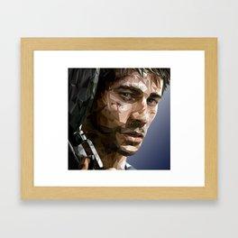 Jason Brody Framed Art Print