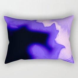 Fire Purple Rectangular Pillow