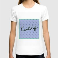 cunt T-shirts featuring Cunt Life Purple by Andy Aidekman