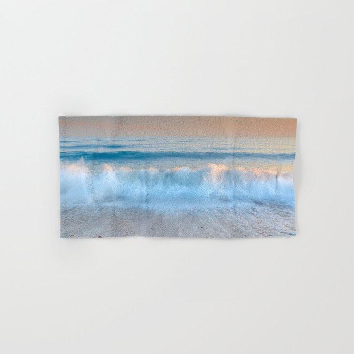 """Looking at the waves II"" Sea dreams Hand & Bath Towel"