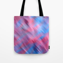 Abstract pink teal modern hand painted watercolor Tote Bag