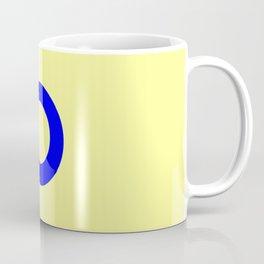 Couleurs imaginaires :Drapeau de l'Utopie. Coffee Mug