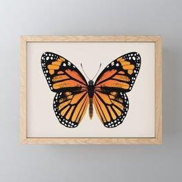 Monarch Butterfly | Vintage Butterfly | Framed Mini Art Print
