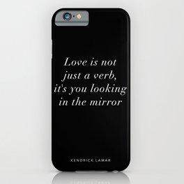 Kendrick Lamar - Poetic Justice Lyrics iPhone Case