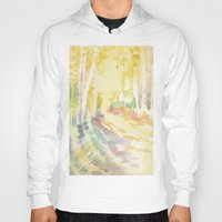 forrest Hoodies featuring Forrest by Susie McColgan
