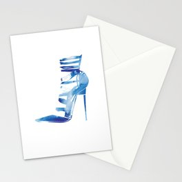 Pumps Stationery Cards