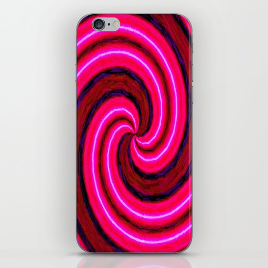 Abstract Pink Modern iPhone & iPod Skin