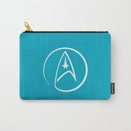 Heathen Trekkie - StarTrek 's Spock Blue Carry-All Pouch