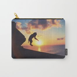 Playful monkey jump Carry-All Pouch