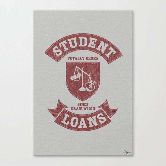School Pride Canvas Print