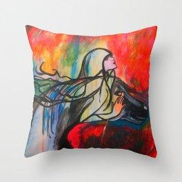 Chasing The Rain  #society6 #decor #buyart Throw Pillow