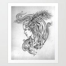 Zepher Art Print