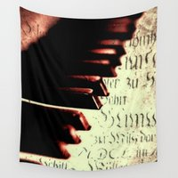piano Wall Tapestries featuring piano by Falko Follert Art-FF77