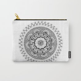 Zendala - Zentangle®-Inspired Art - ZIA 18 Carry-All Pouch
