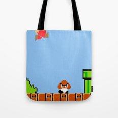 Minion's Last Rites: Mario's Goomba Tote Bag