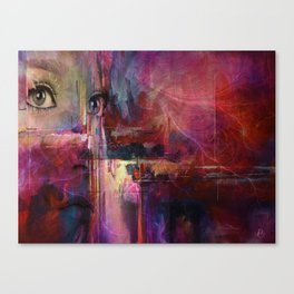Beautiful Confusion #3 Canvas Print