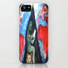 blood and suffer not me iPhone Case