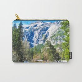 Panorama of Yosemite National Park Carry-All Pouch