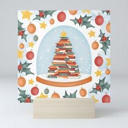 BOOKISH CHRISTMAS Mini Art Print