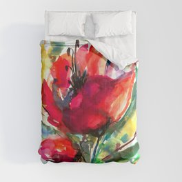 Serendipity 2 by Kathy Morton Stanion Comforters