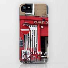 Port O'Leith Edinburgh iPhone Case