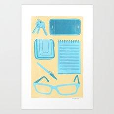 Friendly Reminder Art Print