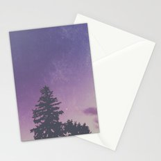 Purple Pines Stationery Cards
