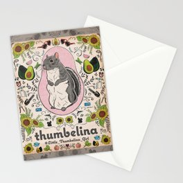 Little Thumbelina Girl: Thumb's Favorite Things in Color Stationery Cards