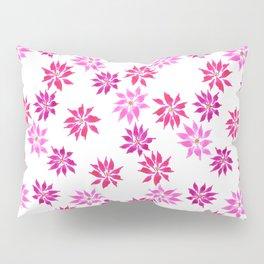 Bright Winter Flowers Pillow Sham