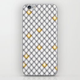 Fish Scale Pattern Design iPhone Skin