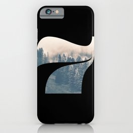 Nr. 7 | Numbers with a View | Typography Letter Art iPhone Case