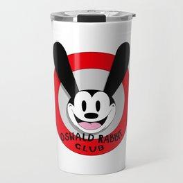 Oswald the Lucky Rabbit Club Travel Mug