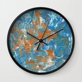 Golden Lacing Wall Clock