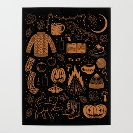 Autumn Nights: Halloween Poster