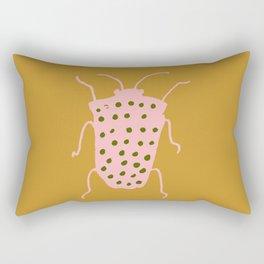 arthropod mustard Rectangular Pillow