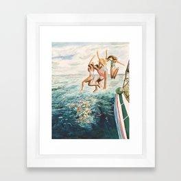 On 3 Framed Art Print