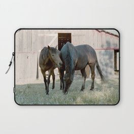 In For The Long Haul (Horses in Northern California) Laptop Sleeve