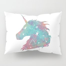 Watercolor Unicorn Pillow Sham