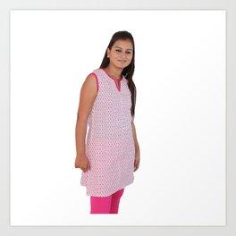 Cotton Indian Kurti for Women Art Print