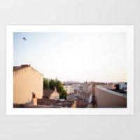Marseille, France Art Print