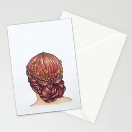 Golden Hair. Stationery Cards