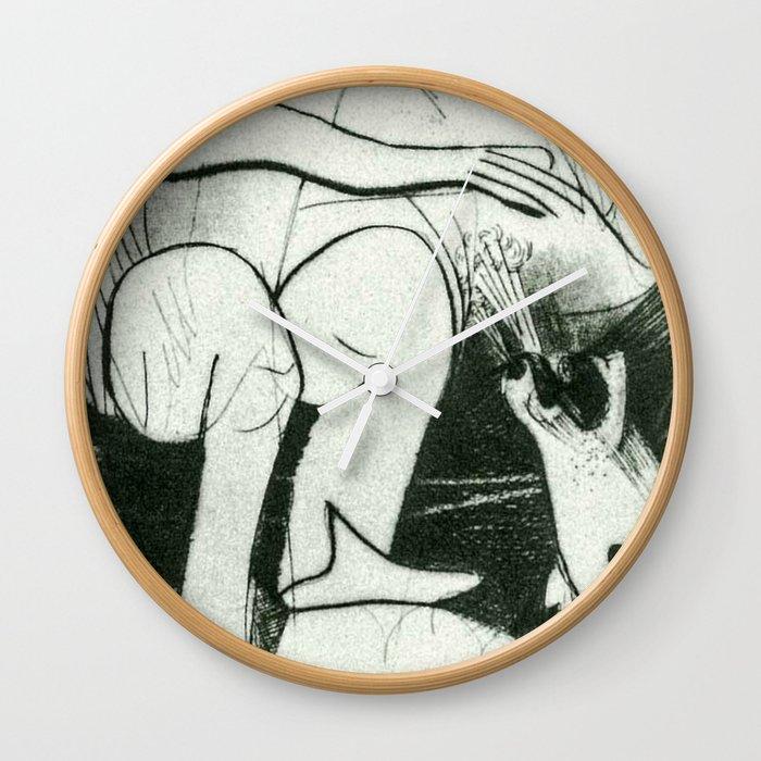 Rough Rider Wall Clock