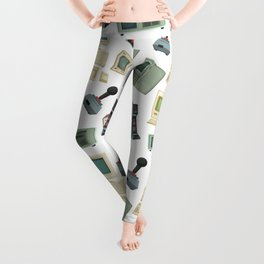 Video Games Pattern | Gaming Console Computer Play Leggings