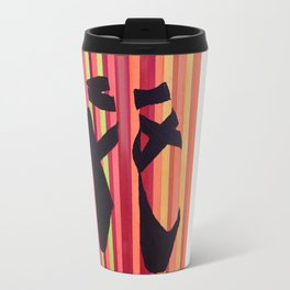 Ballet Stripes Travel Mug